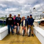 The crew on the 'Marli' brought 3 bluefin tunas back (The crew on the 'Marli' brought 3 bluefin tunas back to the dock this afternoon…)