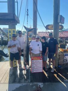 First mako brought to the scales at the Mako Mania (First mako brought to the scales at the Mako Mania tournament! Congrats to the …)