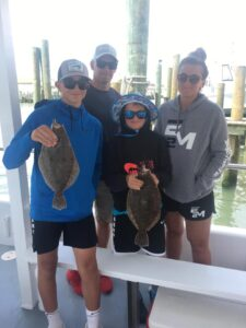 Gorgeous day to be on the water. #bayfishingoc #flounderfishing #familyoc (Gorgeous day to be on the water. #bayfishingoc #flounderfishing #familyoc #dayo…)