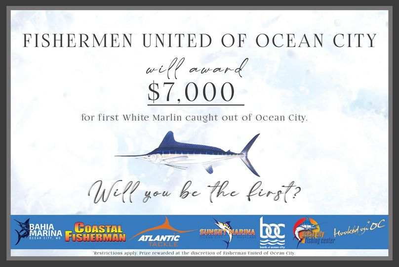 Proud to announce that the Fishermen United of Ocean City