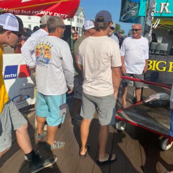 First to weigh in for the HUK. Shark got their