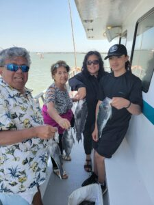 Fishing was good today on the Judith M. Sea Bass (Fishing was good today on the Judith M. Sea Bass and Triggerfish.  Hope to see …)