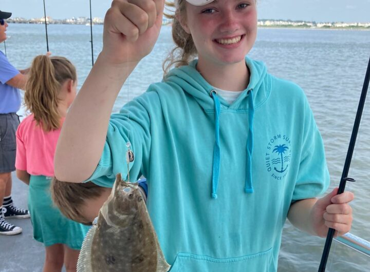 Great morning of fishing on the Bay Bee! Join us