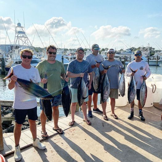 Tuna fishing with the boys. America's greatest past time. Grateful