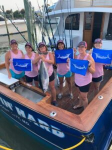Another great day with the ladies! 4/4 on whites and (Another great day with the ladies! 4/4 on whites and a yellowfin for the grill!…)