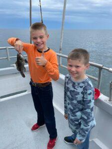 Capt Walt Hammond put the anglers on a mix of (Capt Walt Hammond put the anglers on a mix of large sea bass (up to 19″), floun…)
