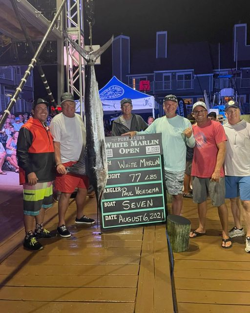 Current 3rd Place White Marlin . . . There's Nothing