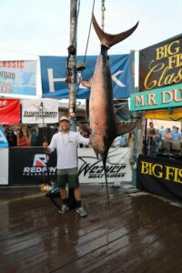 The Largest Payout for a Swordfish in the World! Over (The Largest Payout for a Swordfish in the World!  Over $542,000 paid to the Tea…)
