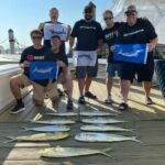 We had a great trip today on the @roshambo_sportfishing we (We had a great trip today on the @roshambo_sportfishing we caught a few dolphin…)