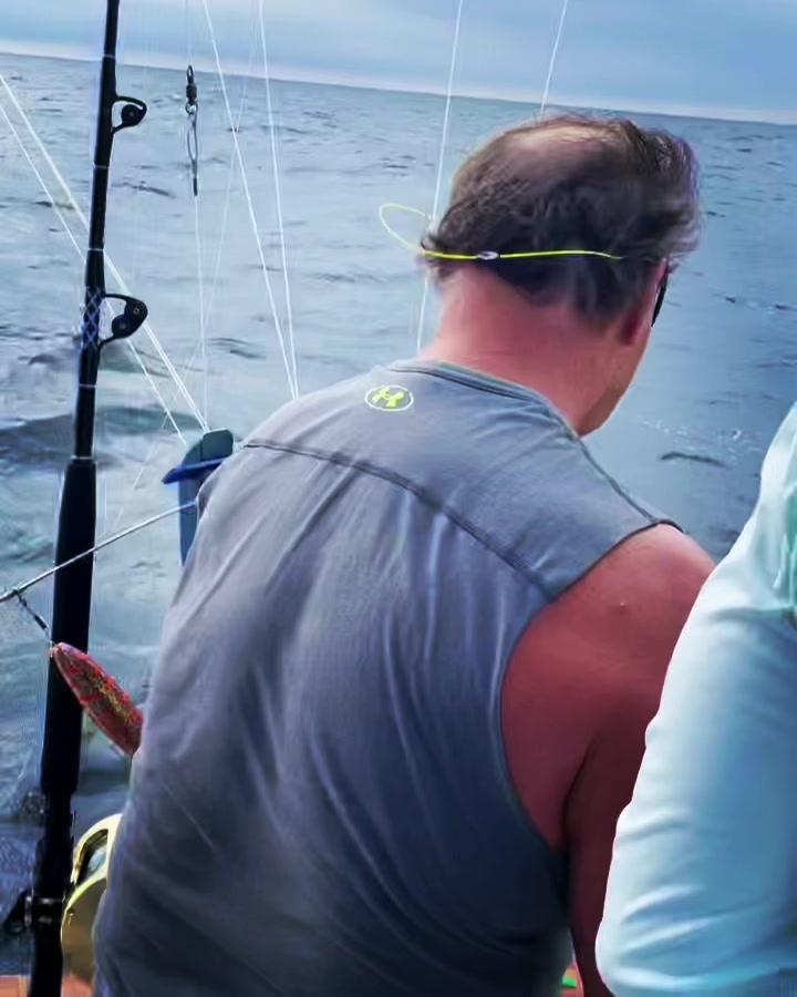 Yellowfin TunaNice catch#jprrods #blackwellboatworks #sportfishingoninstagram #...