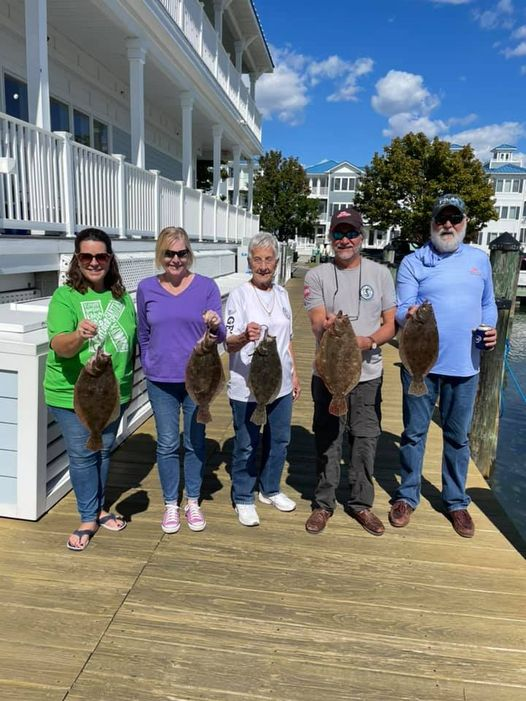 Fall flounder fishing. Always love winding down the season how