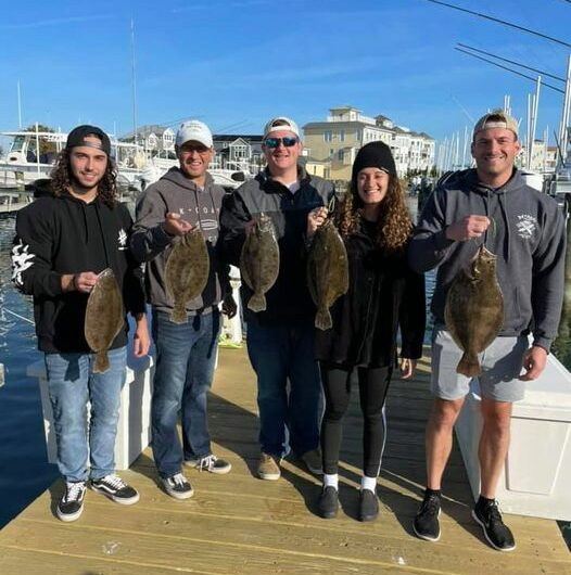 Just in case anyone is curious the flounder are still